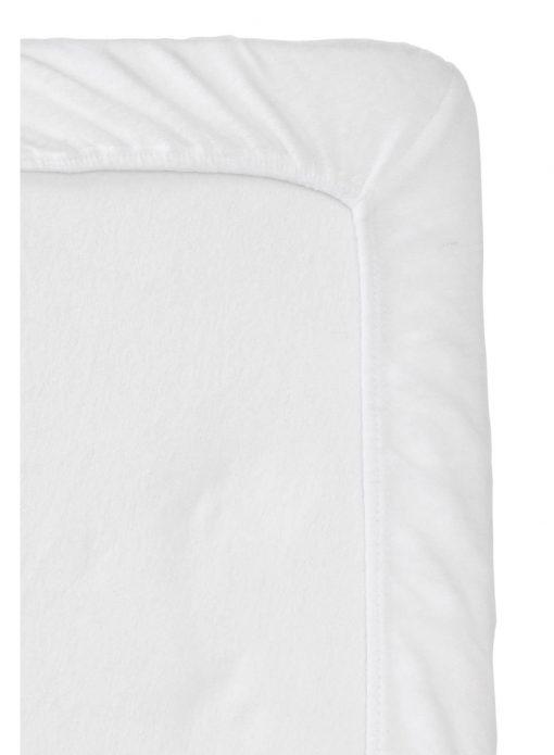 HEMA Molton Hoeslaken Split-topper - 180 X 200/210 Cm (blanc)