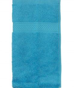 HEMA Gastendoek - 30 X 55 Cm - Zware Kwaliteit - Aqua (aqua)