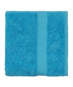 HEMA Handdoek - 60 X 110 Cm - Zware Kwaliteit - Aqua (aqua)