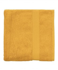 HEMA Handdoek - 60 X 110 Cm - Zware Kwaliteit - Okergeel Uni (okergeel)