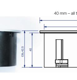 Twist stopcontact met USB-lader. RVS. Belgische aarding-review