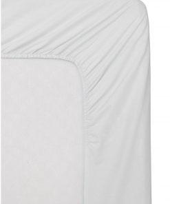 HEMA Hoeslaken - Katoen - 90 X 220 Cm - Wit (blanc)
