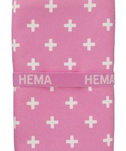 HEMA Handdoek Microvezel 110 X 175 Cm (rose)