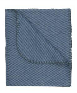 HEMA Fleece Plaid 130 X 150 Cm Blauw