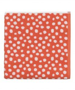 HEMA Handdoek - 70 X 140 - Zware Kwaliteit - Koraal Gestipt