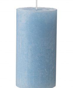 HEMA Rustieke Kaars 7 X 13 Cm (bleu)