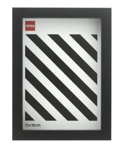HEMA Fotolijst 13 X 18 - Hout Zwart (noir)