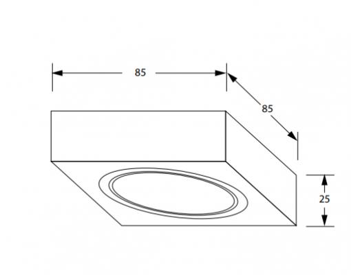 Keukenverlichting onderbouw Box met schakelaar led set van 2-review
