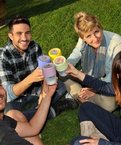 Yoghurtbeker met koelelement Bama YO KIT groen-kopen