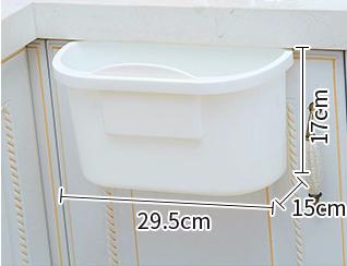 Coninx Afvalemmer - opvanschaal voor keukenblad wit-kopen