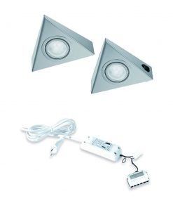 Keukenverlichting onderbouw Astra met schakelaar. Set van 2-kopen