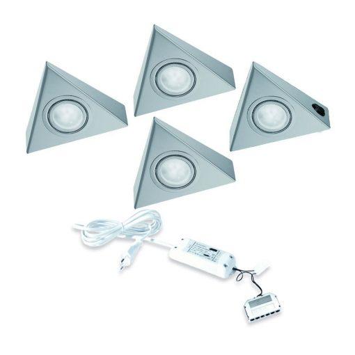 Keukenverlichting onderbouw Astra met schakelaar. Set van 4-kopen