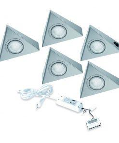 Keukenverlichting onderbouw Astra met schakelaar. Set van 5-kopen