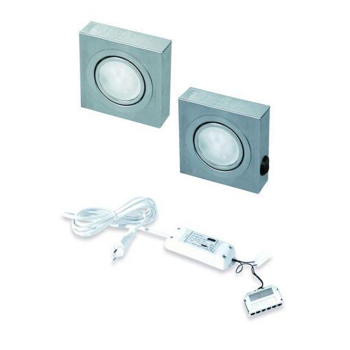 Keukenverlichting onderbouw Box met schakelaar led set van 2-kopen