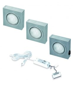 keukenverlichting onderbouw Box met schakelaar led set van 3-review