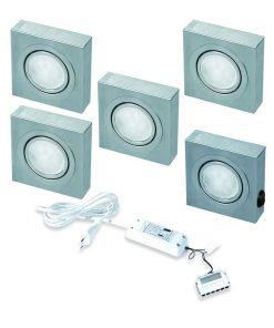 Keukenverlichting onderbouw Box met schakelaar led set van 5-review