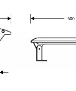 Keukenverlichting Carona led verlichting 60cm breed draaibaar-review
