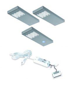 Keuken onderbouw lamp Dotty met touch dim controller. Set van 3-kopen