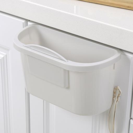 Coninx afvalemmer- opvangschaal voor keukenblad grijs-kopen