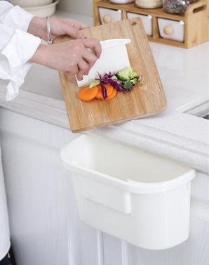 Coninx Afvalemmer - opvanschaal voor keukenblad wit-review