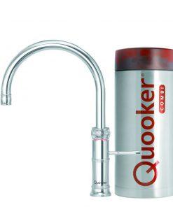 Quooker Combi Plus 22 - Classic Fusion Round - RVS-review