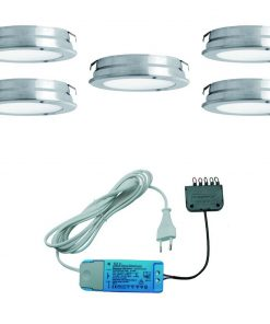Keukenverlichting onderbouw Round. Set van 5-kopen
