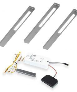 Keuken onderbouw lamp SLIM met touch dim controller. Set van 3-kopen