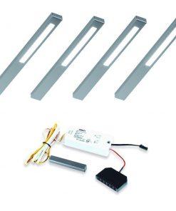 Keuken onderbouw lamp SLIM met touch dim controller. Set van 4-kopen
