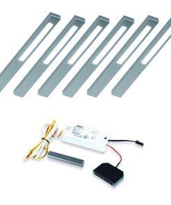 Keuken onderbouw lamp SLIM met touch dim controller. Set van 6-kopen