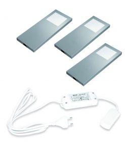 Keuken onderbouw lamp Slim PAD met dim controller. Set van 3-kopen