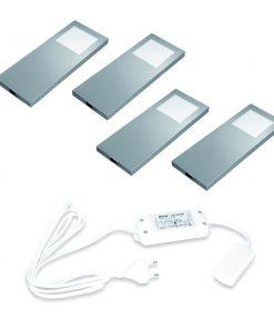 Keuken onderbouw lamp Slim PAD met dim controller. Set van 4-kopen