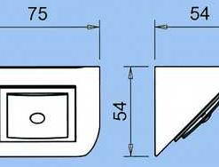 Keukenverlichting onderbouw Domus Line Cubik SET van 3 Uitbreidbaar. Warm wit.-kopen