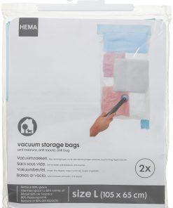 HEMA 2-pak Vacuumzakken Large