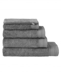 HEMA Handdoeken - Hotel Extra Zwaar Donkergrijs (donkergrijs)