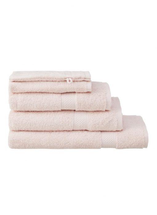 HEMA Handdoeken - Zware Kwaliteit Lichtroze (lichtroze)