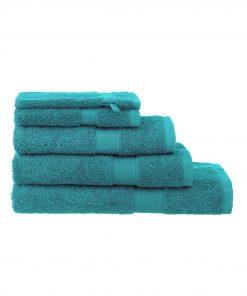 HEMA Handdoeken - Zware Kwaliteit Groen (groen)