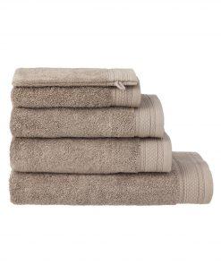 HEMA Handdoeken - Hotel Extra Zwaar Taupe (taupe)