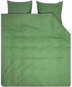 HEMA Dekbedovertrek - Zacht Katoen - Uni Groen (groen)