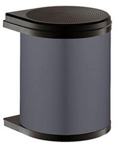 Afvalemmer Hailo Mono 15 liter 3515-07 - donkergrijs/zwart-review