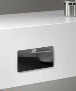 Due dubbel stopcontact met schuifdeksels - inbouw - zwart (penaarde)-review