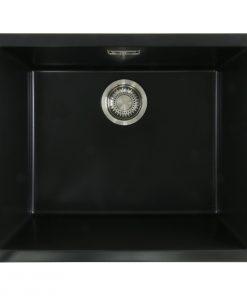 Mizzo Ambro 50-40 spoelbak onderbouw/opbouw - zwart-review