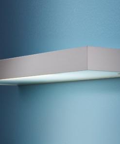 LED Lichtboard glasschap 600mm