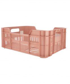 HEMA Opbergkrat - 41 X 31 X 15 - Gerecycled Roze (roze)