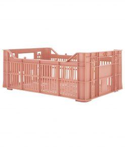 HEMA Opbergkrat - 30 X 20 X 11 - Gerecycled Roze (roze)