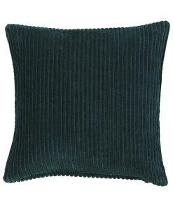HEMA Kussenhoes - 50x50 - Rib - Groen (groen)