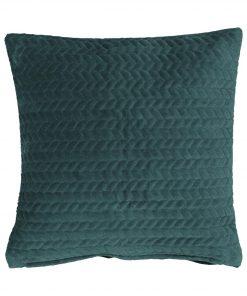 HEMA Kussenhoes - 40x40 - Velours - Groen (groen)