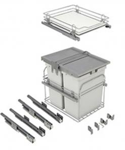 Copa Design Afvalemmer Copa A-5000. 60 liter. Front en draaideur toepassing-kopen