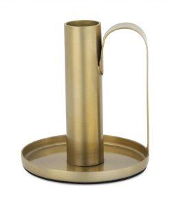 HEMA Kandelaar - 10.2 X 2.3 Cm - Goud (goud)