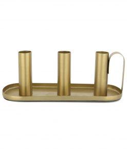 HEMA Kandelaar - 8.3 X 22.2 Cm - Goud (goud)
