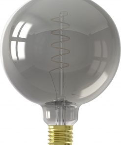 HEMA LED Lamp 4W - 100 Lm - Globe - Titatium (grijs)